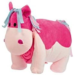 Plush Horse with Blanket In Pink - Great toy for all kids for birthday or Christmas prsents