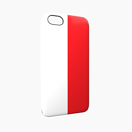 Flag of Monaco Glossy Hard Snap-On Protective iPhone 5 / 5S / SE Case Cover