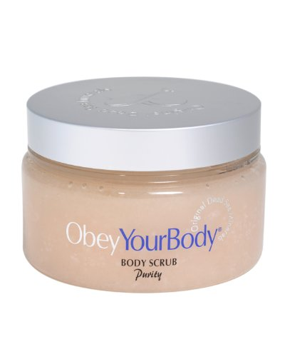 Obey Your Body Dead Sea Mineral Salt Scrub Treatment Exfoliating Purity