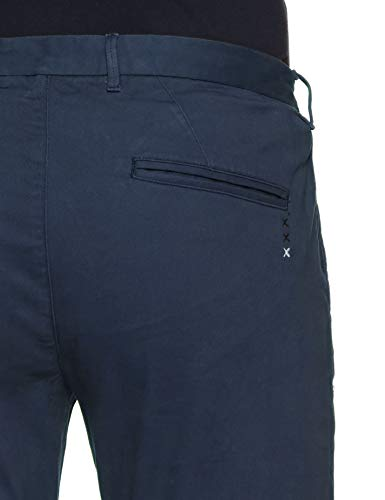 Scotch 2525 In Bleu Soda With Belt Ams Navy Stuart Blauw teal Twill amp; Homme Peached Pantalon Chino RRqrf