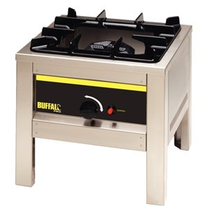 Buffalo Big Flame Natural Gas Burner   Heavy Duty Commercial Kitchen Outdoor  Outside Mobile Camping Boiling