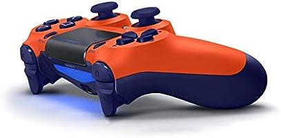 Amazon Com Dualshock 4 Wireless Controller For Playstation 4 V2 Sunset Orange Video Games