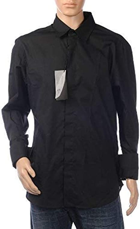 Just Cavalli Camisa Manga Larga Puño Doble - Negro, 50: Amazon.es: Ropa y accesorios