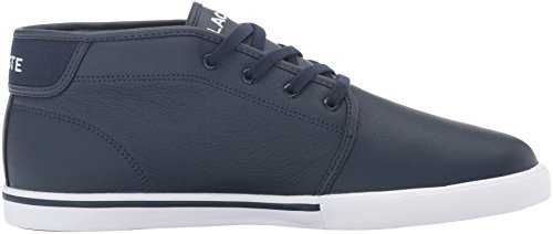Lacoste Men's Ampthill G416 1 Casual Boot Fashion Sneaker, Navy, 7 M US