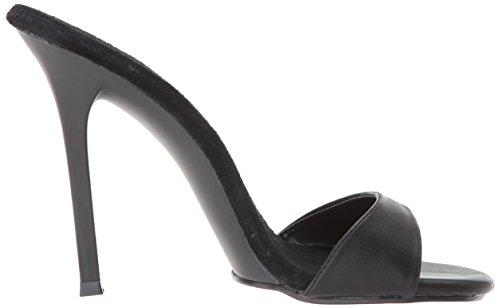 Fabulicious Kvinnor Gala-01s Sandal Svart Polyuretan / Svart Matt