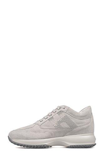 Les Femmes Hogan Hxw00n05641cr09990 Chaussures En Daim Gris