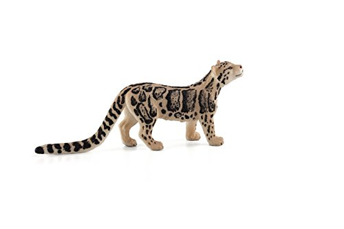 Mojo Fun 387172 Clouded Leopard - Realistic Wild Cat Toy Replica - New for (Toy Leopard)