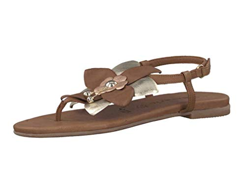 Fashion 28186 Women's 38 1 Sandals Tamaris Brown 392 1 qHAOAwT