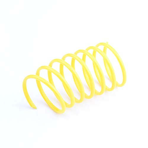 60 Pack Cat Spring Toy Plastic Colorful Coil Spiral Springs Pet Action Wide Durable Interactive Toys 5