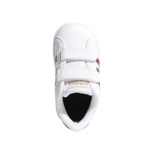 adidas Performance Baby Baseline, White/Copper Metallic/Black, 6K M US Toddler by adidas (Image #6)