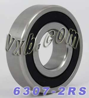 35mm ID 80mm OD Deep Groove Ball Bearing 35x80x21