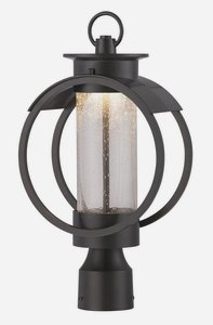 Designers Fountain LED32826-BNB Arbor 9 Inch Led Post Lantern by Designers Fountain
