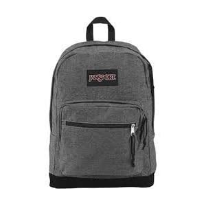 Jansport Right Pack Expressions White/Black Two Tone Twill TZR6ZH0