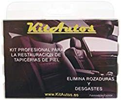 KITAUTOS KRTP1 Kit restauracion tapicerias de Piel,Color Negro, 15