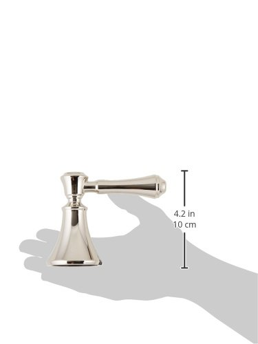 Polished Nickel Delta Faucet H697PN Cassidy Two Lever Roman Tub Handle Kit