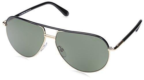 Tom Ford Women's TF0285 Sunglasses, Shiny - Aviator Cole Tom Ford