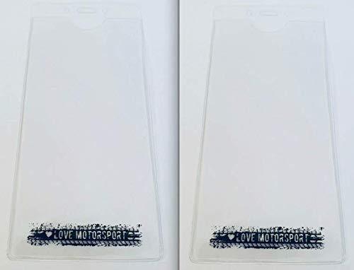 LoveMotorsport 2/x Large Plastique Ticket Portefeuille Pass support pour F1/MotoGP WRC le Mans 22/x 10/cm
