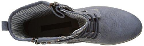 Tom Tailor 2796106, Botines para Mujer Azul (Jeans)