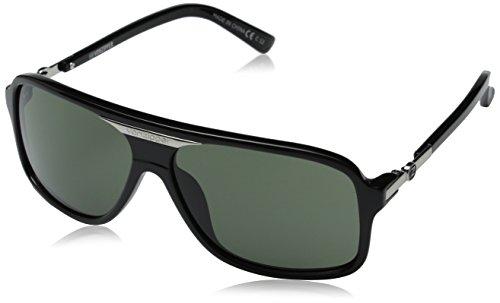 VonZipper Stache Square Sunglasses,Black Gloss,One - Sunglasses Von Mens Zipper