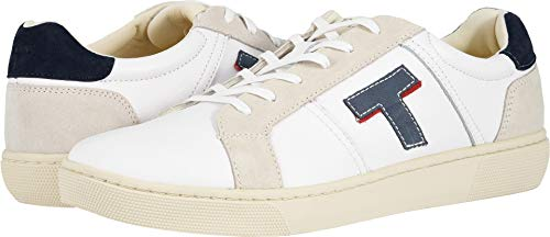 TOMS Men's Leandro White Smooth Leather 8 D US