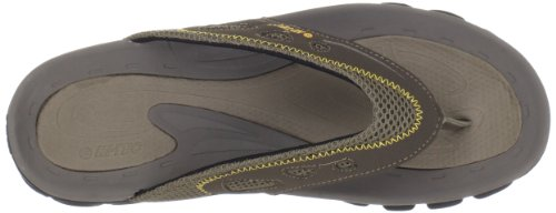 Hi-tec Hombres Gt Thong Sandal Smokey Brown / Taupe / Gold