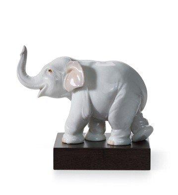 LUCKY ELEPHANT Lladro - Elephant Lladro