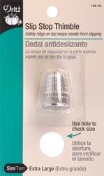 Bulk Buy: Dritz Slip Stop Thimble Extra Large 162-XL (3-Pack) Prym Consumer USA 4337013043