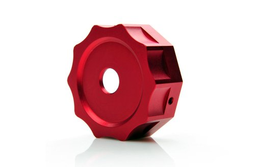 PasswordJDM Gas Cap Cover V1 - Red Compatible with Honda Ruckus/Zoomer