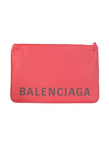 in Clutch Balenciaga 5293130otdm6575 Women rossa pelle 1q0UUFpT