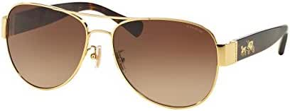 Coach Womens L138 Sunglasses (HC7059) Metal