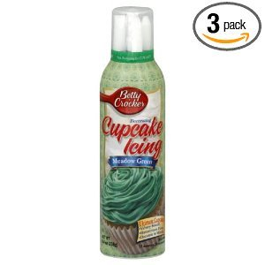 Betty Cupcake Icing Meadow Green 8.4 OZ (Pack of 18)