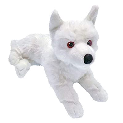 Factory Entertainment Game of Thrones Ghost Direwolf Prone Cub Large Plush: Toys & Games