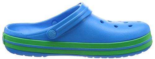 Green Grass Crocband Mixte Crocs Enfant Ocean Sabots qYwq4XR