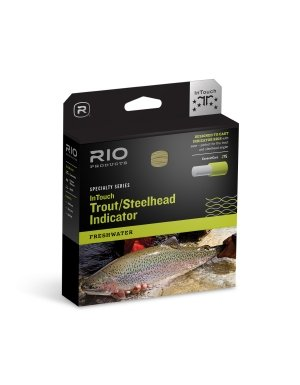RIO Products Fly Line Intouch Trout/Steelhead Indicator Wf7F, Orange-Moss-Yellow (Rio Products Trout)