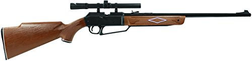 Daisy Powerline Air Rifle (Daisy Outdoor Products 880 Rifle with Scope (Dark Brown/Black, 37.6 Inch))