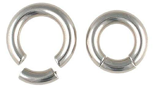 316L Stainless Steel Segment Ring | 4g | 1/2