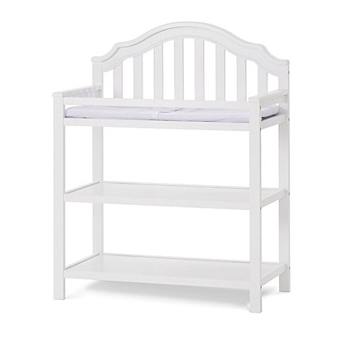 Child Craft Penelope Changing Table in Matte White
