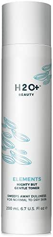 H2O+ Beauty Elements Mighty but Gentle Facial Toner, Sweeps Away Dullness for Normal to Dry Skin, 6.7 ounce