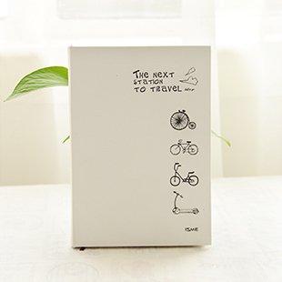 Amazon シンプル デザイン イラストタッチの かわいい 硬表紙ノート