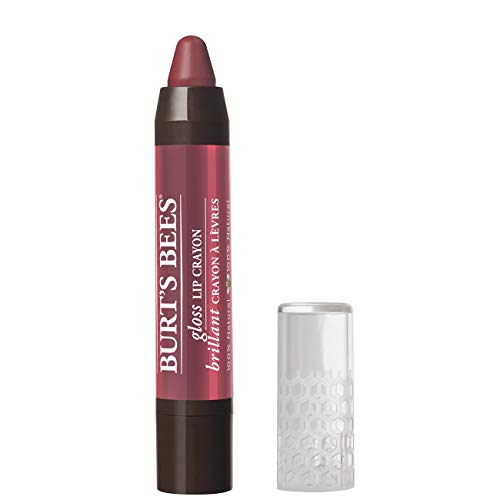 Burts Bees 100% Natural Gloss Lip Crayon, Tahitian Sunset, 2.83g (Lip Makeup Beauty Pencil Gloss)