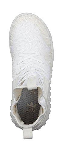 Adidas Originalen Rörformiga X Pk J Junior Hi Sneakers Gymnastikskor Bianco S76039