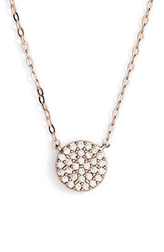 NADRI Geo' Small Rose Gold Pendant Necklace for sale  Delivered anywhere in USA