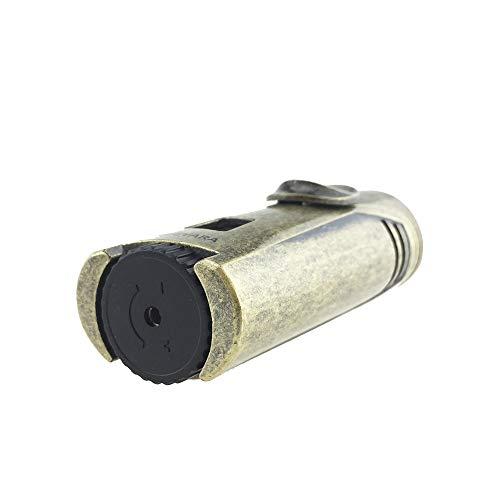Guevara Cigar Gift Set Gift Box Ashtray(1) + Cutter(1) + Lighter(1) (Gold) by Guevara (Image #5)