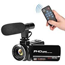 Full HD Camcorder 1080p Digital Camera 30FPS...