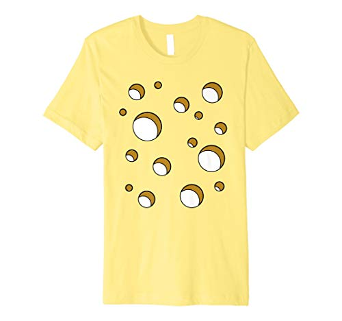 Swiss Cheese Costume T Shirt Halloween Costume