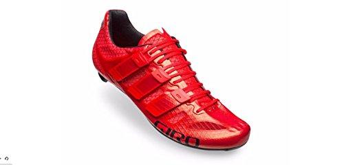 Giro Prolight Techlace Heller roter Rennrad-Schuh