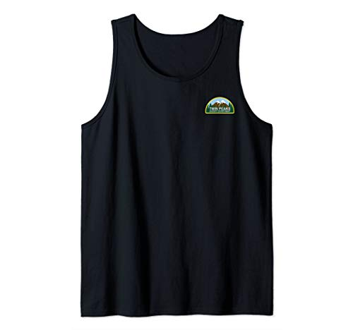 Sheriffs Department Patch - Twin Peaks Sheriff Department Faux Law Patch Tank Top