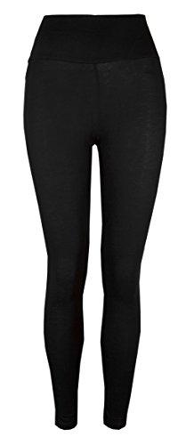 Love Lola - Legging -  - Uni Femme Noir Noir -  Noir - Noir - Large