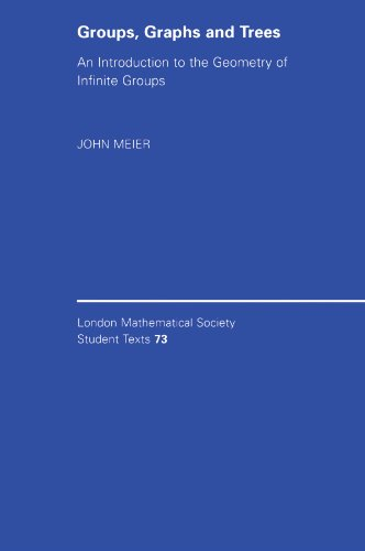 Groups, Graphs and Trees: An Introduction to the Geometry of Infinite Groups (London Mathematical Society Student Texts)