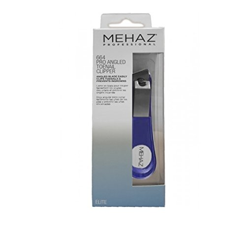 Mehaz Professional Angled Toenail Clipper 664 by Mehaz Professional